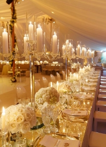 banquete for wedding