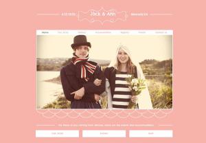 сайт для свадьбы